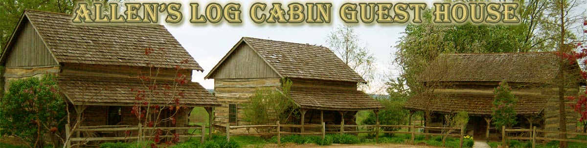 Allen's Log Cabin Guest House